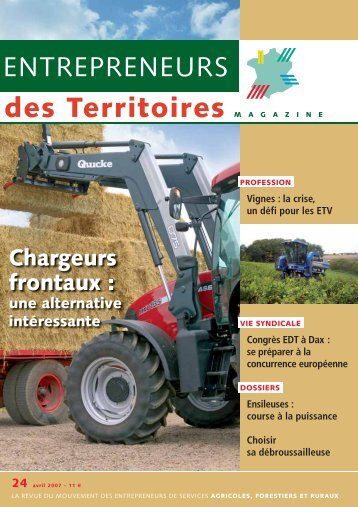 Chargeurs frontaux : - Accueil