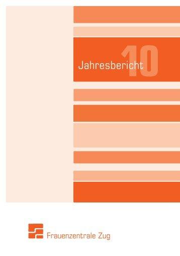 Jahresbericht - Frauenzentrale Zug