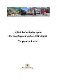 Luftreinhalteplan - Stadt Heilbronn