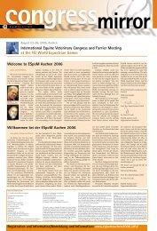 Welcome to ESpoM Aachen 2006 International ... - Veterinärspiegel