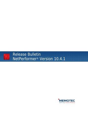 Release Bulletin NP V10.4.1R02 - Comtech EF Data