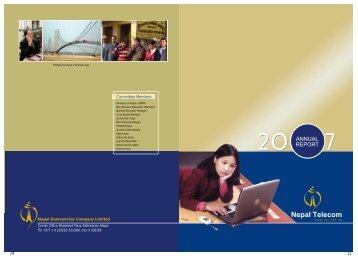Annual Report 2007 - Nepal Telecom