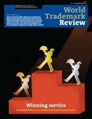 World Trademark Review - Edital