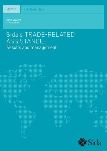 Sida's Trade-Related Assistance: Results and Management