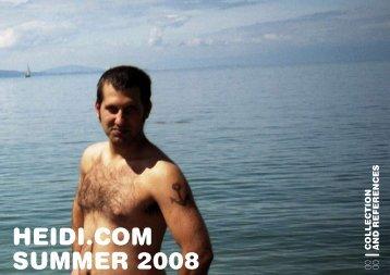 HEIDI.COM SUMMER 2008