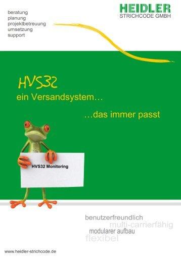HVS32 Monitoring System - Heidler Strichcode GmbH