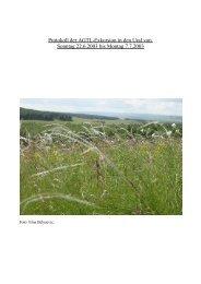 protokoll-ural-2003.pdf (23MB) - Biologie, Universität Ulm