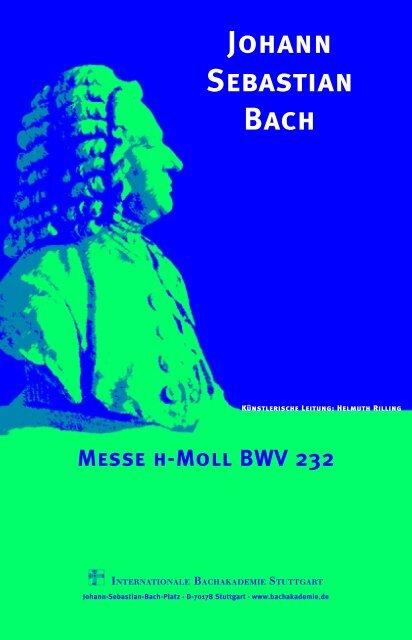 Johann Sebastian Bach - Festivalensemble Stuttgart