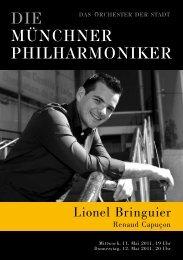 Lionel Bringuier - Münchner Philharmoniker