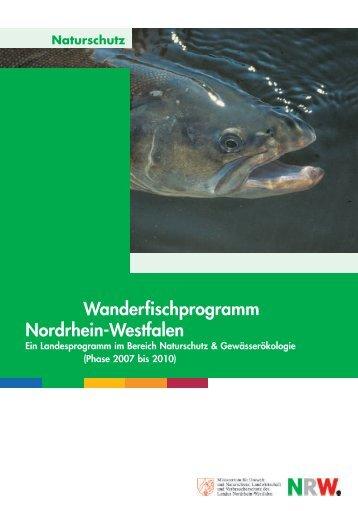 Wanderfischprogramm Nordrhein-Westfalen - LANUV NRW