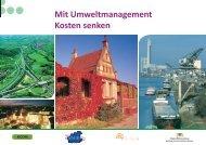 Mit Umweltmanagement Kosten senken - Walter Domesle ...