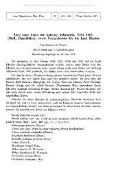 Zwei neue Arten der Gattung Albinaria, TEST 1867, (Moll ...