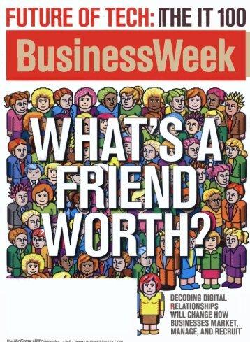 THE IT 100 Businessweek