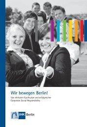 wir bewegen Berlin! - IHK Berlin