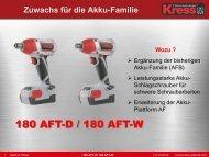180 AFT-D / 180 AFT-W - Mollner Spezialhandel GmbH