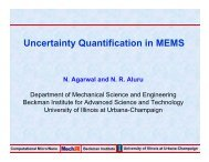 Uncertainty Quantification in MEMS - USC Group for Uncertainty ...