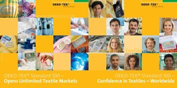OETS 100 image brochure en - Oeko-Tex
