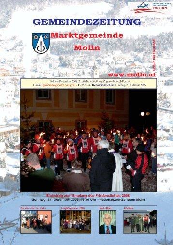Ausgabe 4/Dezember 2008 - Molln