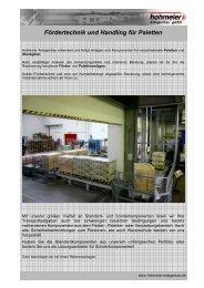 Prospekt FT-7-008 - Hohmeier Anlagenbau