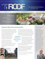In This Issue - Hohenstein Institute