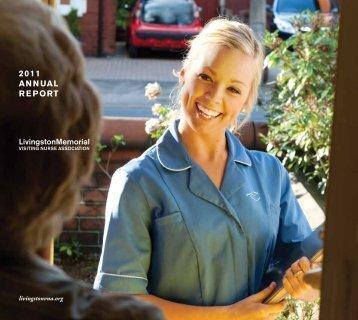 2011 annual report - Livingston Memorial Visiting Nurses Association