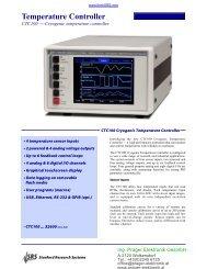 Temperature Controller - Prager Elektronik