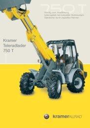 Kramer Teleradlader 750 T