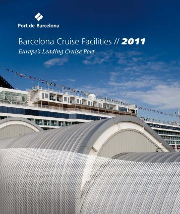 Barcelona Cruise Facilities 2011 - bcnshop