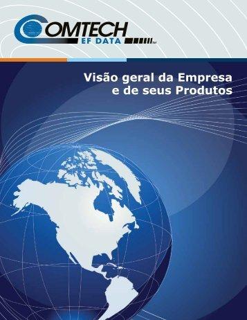 Visão geral da Empresa e de seus Produtos - Comtech EF Data