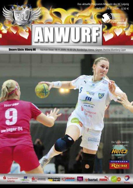 Das Programmheft des Spiels zum download! - HC Leipzig