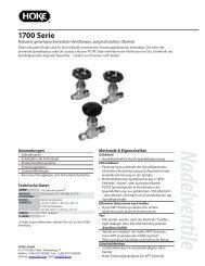 1700_series German.indd - bei Hoke GmbH