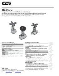 Serie 2200 - bei Hoke GmbH