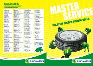 Master Service - Euromaster