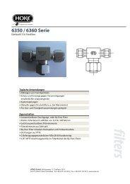 Serie 6350/60 -  bei Hoke GmbH