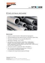 Präzisionsrohre für GYROLOK-Klemmring ... - bei Hoke GmbH