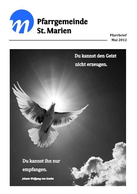 Pfarrbrief 05/2012 - Kath. Kirchengemeinde St. Marien Neunkirchen
