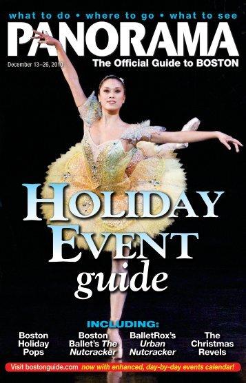 HOLIDAY EVENT - Panorama Magazine
