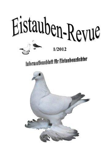 Jahreshauptversammlung 2012 - SV der Eistauben