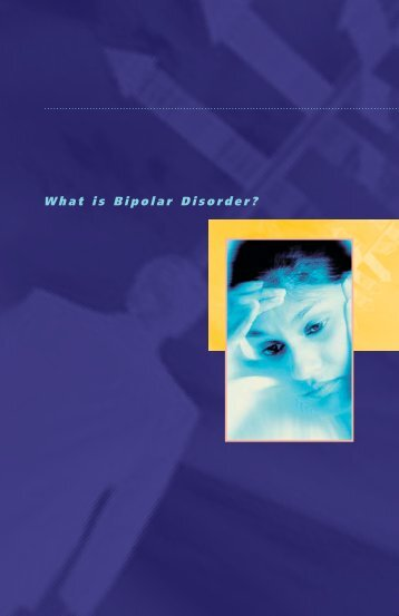 What Is Bipolar Disorder? - Mood Disorders Society of Canada