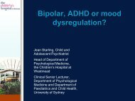 Bipolar, ADHD or mood dysregulation? - Black Dog Institute