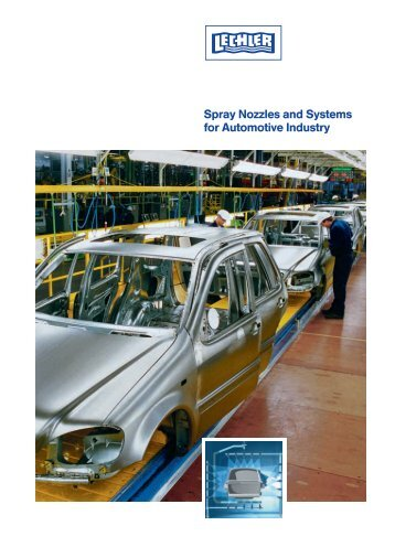 Spray Nozzles and Systems for Automotive Industry - Lechler GmbH