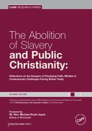 and Public Christianity - Campaign Director