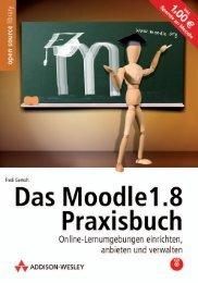Das Moodle 1.8 Praxisbuch  - *ISBN ... - Addison-Wesley