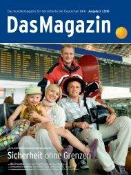 Das Magazin 3 2010 (PDF, 3.3 MB) - Deutsche BKK