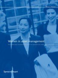Women in asset management - EuropeanPWN