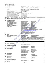 Advance Program (PDF, 94kB) - Motorbootrennsport