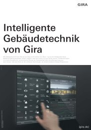 081014 1 Ansicht_Beilage_System ... - Gira Kunststofftechnik