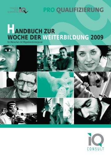 handbuch zur woche der weiterbildung 2009 - Netzwerk Integration ...