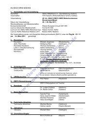 Ausschreibung (PDF, 97kB) - Motorbootrennsport