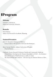 Authors, Editors & Composers - University of Cincinnati Libraries
